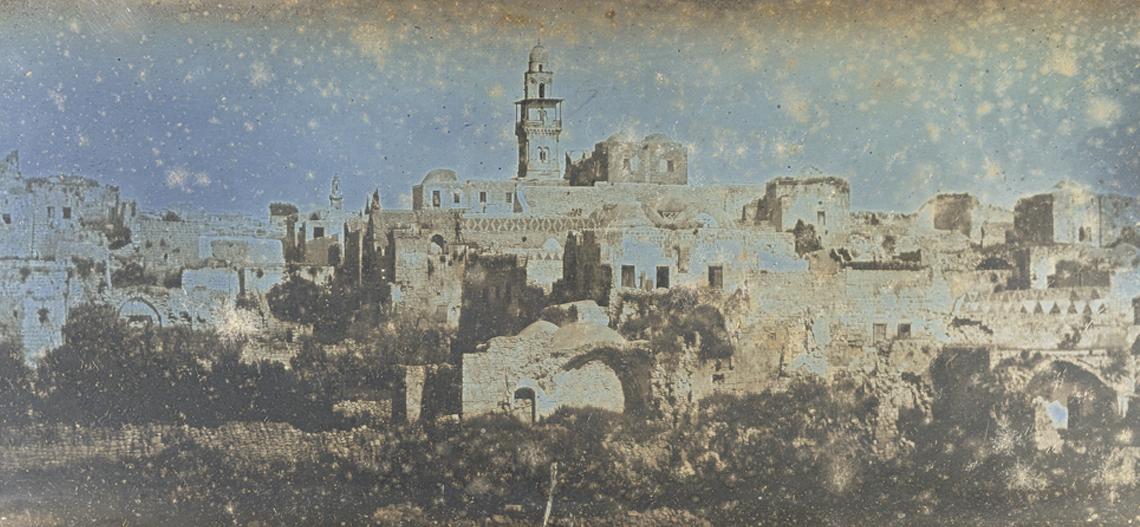 כך ירושלים נראתה במאה ה-19