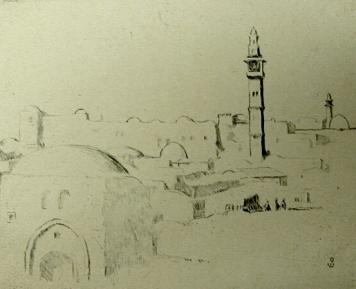 ירושלים ומתפלליה - יצירות מהתקופה הארצישראלית