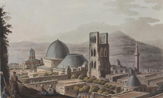 מבט לעבר כנסיית הקבר