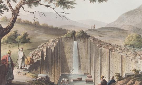 מעיין השילוח ליד ירושלים