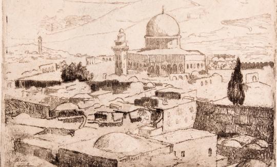הרמן שטרוקירושלים, מסגד