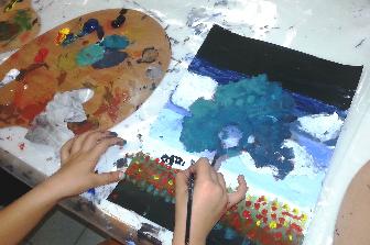 סיור אמנות למשפחות וסדנה