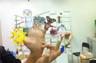 סדנת יצירה: תיאטרון אצבעות