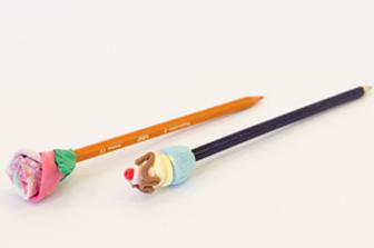 ورشة ابدعية: تزيين أقلام الرصاص
