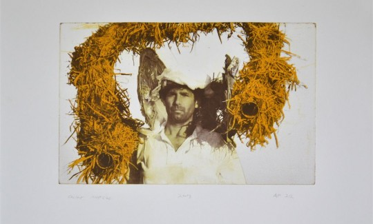 Shahar Marcus,The Shepherd King (Yellow), 2013From