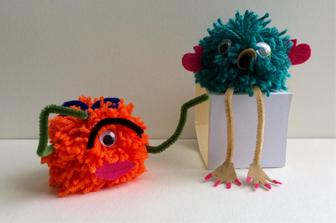 סדנת יצירה: סדנת בובות מפונפונים