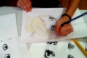 Children's Workshop - Kite Workshop for the Japanese Boys' Day at Horev Centre