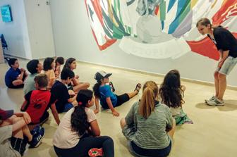 מחנה אמנות נודד – קייטנת נוער!