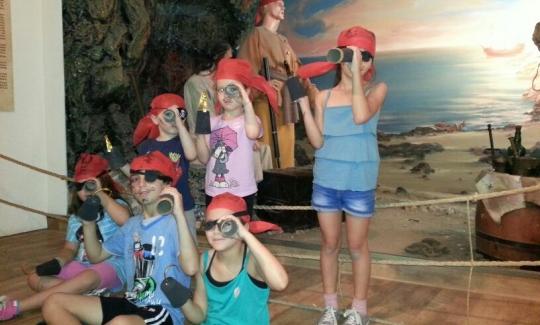 ילדים בפעילות מוזיאלית