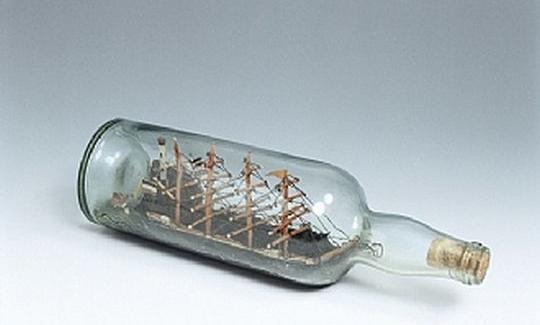 אנייה בבקבוק, שלהי המאה ה־19