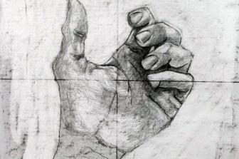 רישום באמצעות צד ימין של המוח